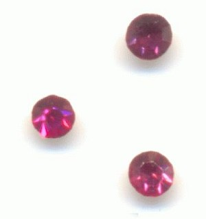 15pp MC Rose Rhinestones