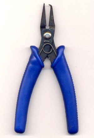 5 1/2'' Blue Handle Split Ring Pliers