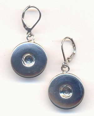 18mm to 20mm Snap Jewelry Earrings
