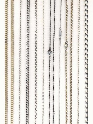 Mixed lot of Small Chains