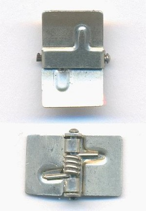 9.3mm (5/16'') Nickle Silver Spring Hinge