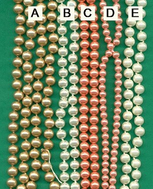 Mixed Lot of Pearl Bead Strands