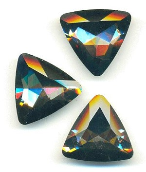23mm Black Diamond Rounded Triangle