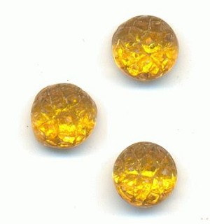 6mm Topaz Flat Back Sugar Stones