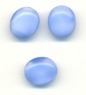 12x10mm Sapphire Oval Moonstones