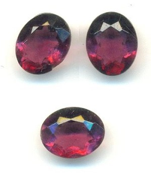 10x8mm Transparent Amethyst TTC Oval