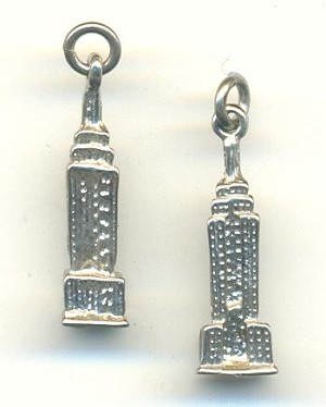 22x7mm Sterling Empire State Building Ch