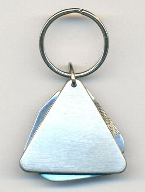 1 3/4'' Triangular Utility Knife Key Ring