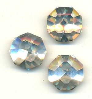 18mm Swarovski Crystal Square-Octagon RS