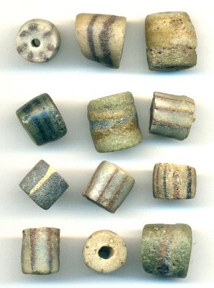 Mixed Earth Tone African Trade Beads