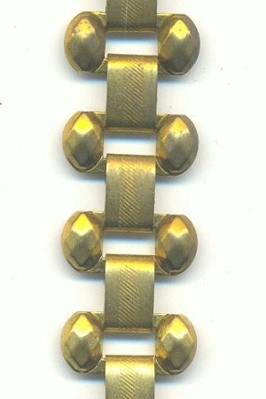 13mm Vintage Brass Link Chain